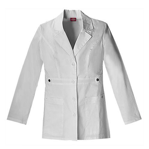 """Dickies® Womens 28"""" Lab Coat"""