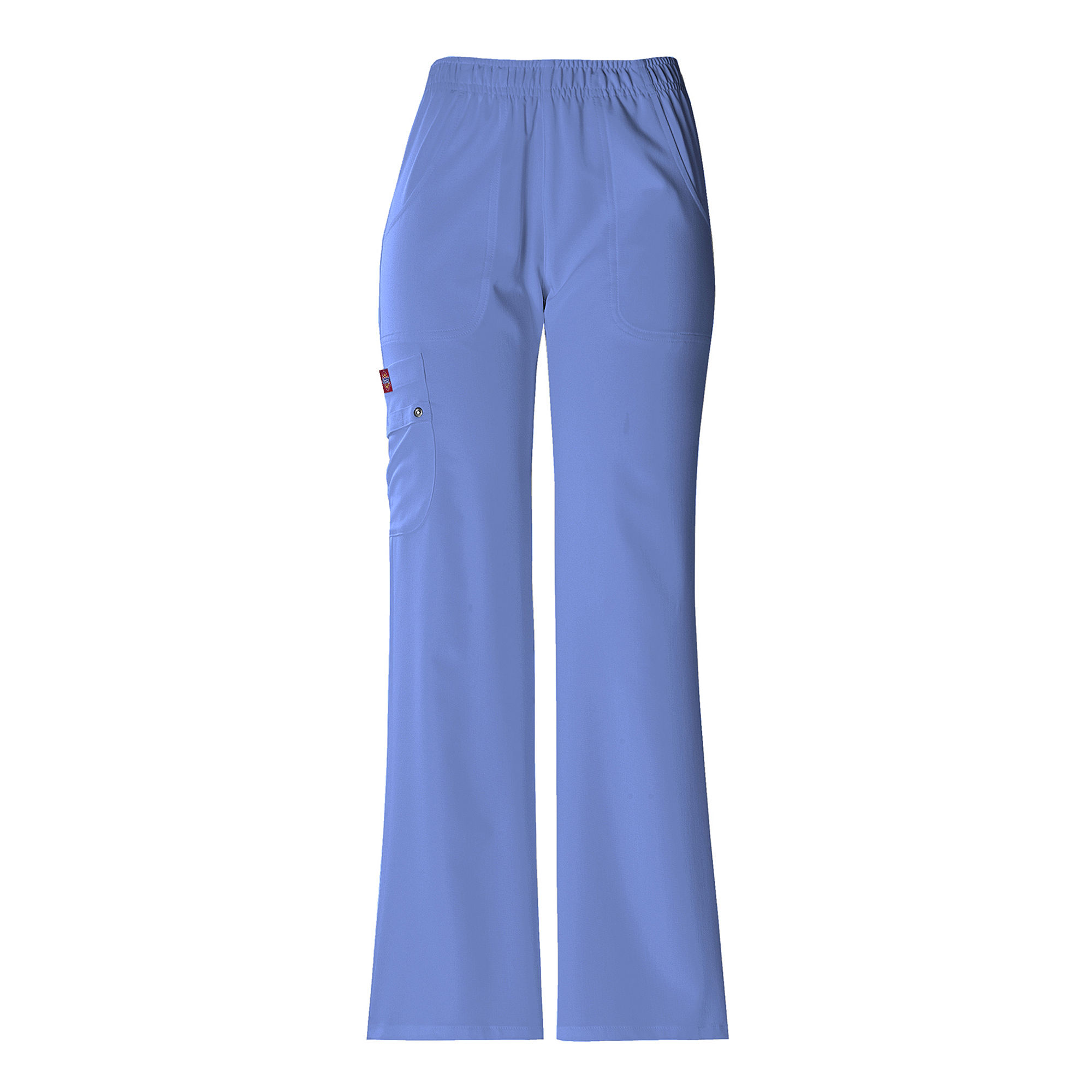 Dickies Womens Pull-On Cargo Scrubs-Plus Petite