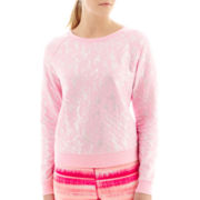 Xersion™ Quilted Foil Sweatshirt