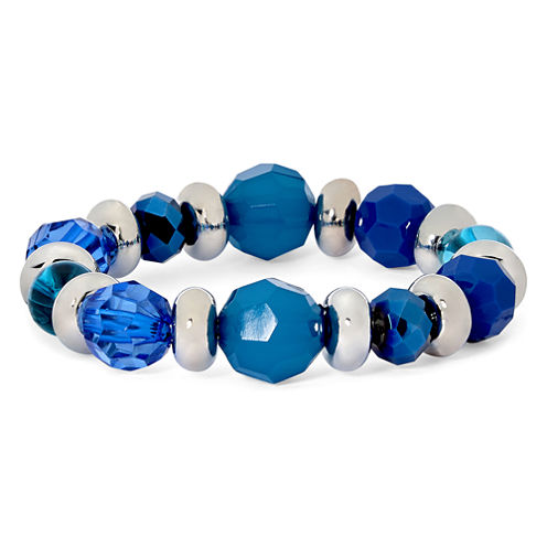 Mixit™ Blue and Green Stretch Bracelet
