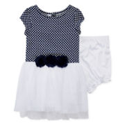 Marmelatta Short-Sleeve Dress - Baby Girls 3m-24m