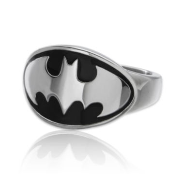 jcpenney.com | DC Comics® Stainless Steel Batman Ring