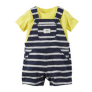 Carter's® Shortalls and Top Set - Baby Boys newborn-24m