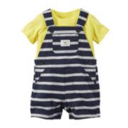 Carter's® Shortalls and Top Set - Baby Boys newborn-24m