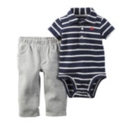 Carter's® Short-Sleeve Bodysuit and Pants Set - Baby Boys newborn-24m