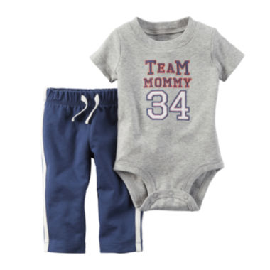 jcpenney.com | Carter's® Short-Sleeve Bodysuit and Pants Set - Baby Boys newborn-24m