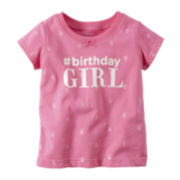 Carter's® Birthday Tee - Baby Girls 9m-24m