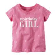 Carter's® Birthday Tee - Baby Girls 9m-24m