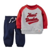 Carter's® Valentine's Day Pullover and Pants Set - Baby Boys newborn-24m