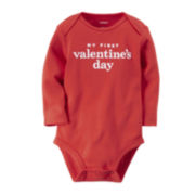 Carter's® Long-Sleeve Valentine's Day Bodysuit - Baby Boys newborn-24m