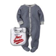 Carter's® Valentine's Day Sleep-and-Play Set - Baby Boys newborn-9m