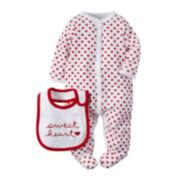 Carter's® Valentine's Day Sleep & Play Set - Baby Girls newborn-9m