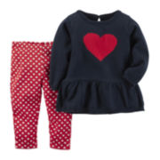 Carter's® Valentine's Day Sweater and Leggings Set - Baby Girls newborn-24m