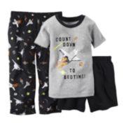 Carter's® Short-Sleeve 3-pc. Space Pajama Set - Baby Boys 12m-24m