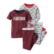 Carter's® 4-pc. Pajama Set - Baby Boys 6m-24m