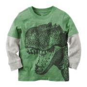 Carter's® Long-Sleeve Dino Tee - Preschool Boys 4-7
