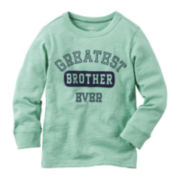 Carter's® Long Sleeve Brother Tee - Preschool Boys 4-7