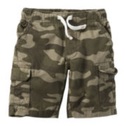 Carter's® Camo Cargo Shorts - Preschool Boys 4-7