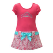 Lilt Short-Sleeve Lace Marsha Dress - Toddler Girls 2t-4t