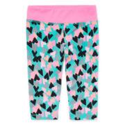 Okie Dokie® Yoga Capri Leggings - Preschool Girls 4-6x