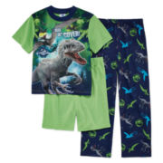 3-Pc. Jurassic World Pajama Set - Boys 4-10