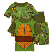 4-Pc. Teenage Mutant Ninja Turtle Pajama Set - Boys 4-10