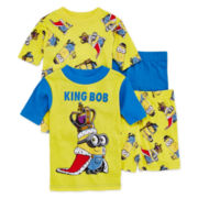 4-Pc. Minion Pajama Set - Boys 4-10