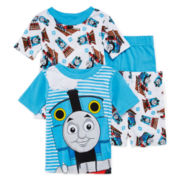 4-Pc. Thomas the Tank Engine Pajama Set - Toddler Boys 2T-4T