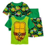 4-Pc. Teenage Mutant Ninja Turtles Pajama Set - Toddler Boys 2T-4T