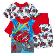 4-Pc. Blazing Speed Pajama Set - Toddler Boys 2T-4T