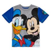 Disney Apparel by Okie Dokie® Short-Sleeve Mickey Mouse Tee - Preschool Boys 4-7