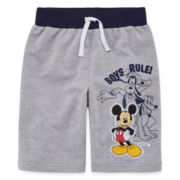 Disney by Okie Dokie® Mickey Mouse Shorts - Preschool Boys 4-7