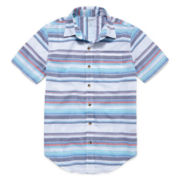 Arizona Button-Down Woven Shirt - Boys 8-20 and Husky