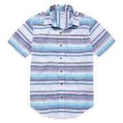 Arizona Button-Down Woven Shirt - Boys 8-20 and Husky