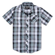 Zoo York® Short-Sleeve Plaid Button-Front Shirt - Boys 8-20