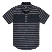 Zoo York® Short-Sleeve Striped Button-Front Shirt - Boys 8-20