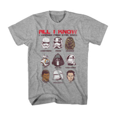 jcpenney.com | Star Wars Force Awakens™ All I Learned T-Shirt