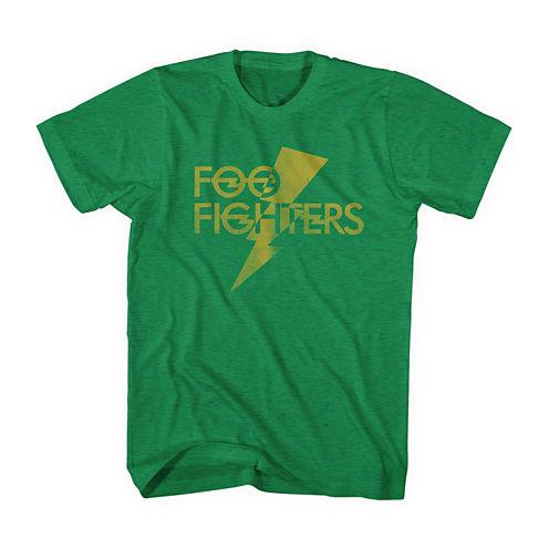 Foo Fighters Lightning Bolt Short Sleeve T-Shirt