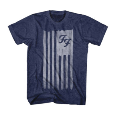 jcpenney.com | Foo Fighters Flag Short Sleeve T-Shirt