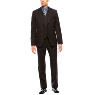 jcpenney.com | Stafford® Travel Charcoal Suit Separates  - Classic