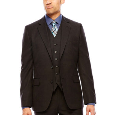 jcpenney.com | Stafford® Travel Charcoal Suit Jacket