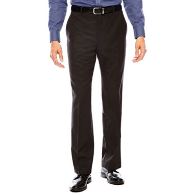 jcpenney.com | Stafford® Travel Charcoal Suit Pants