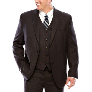 jcpenney.com | JF J.Ferrar® Black Nailhead Suit Jacket - Big & Tall