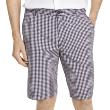 jcpenney.com | IZOD® Mini-Plaid Poplin Shorts