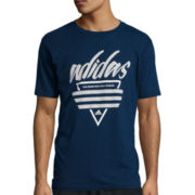adidas® Adilogo Short-Sleeve Graphic Tee