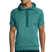 Xersion™ Short-Sleeve Training Fleece Pullover Hoodie