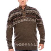 i jeans by Buffalo Long-Sleeve Ladem Sweater - Big & Tall