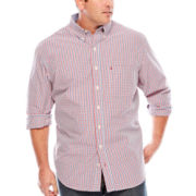 IZOD® Long-Sleeve Woven Shirt - Big & Tall