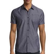 Zoo York® Above The Rail Short-Sleeve Woven Shirt