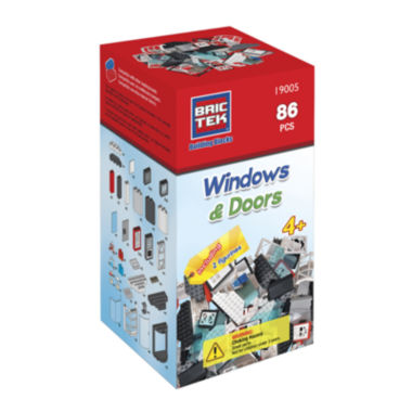 jcpenney.com | BricTek Doors & Windows Building Set